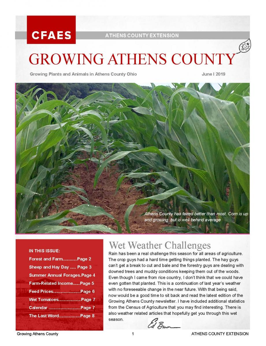 Growing Athens County Newsletter